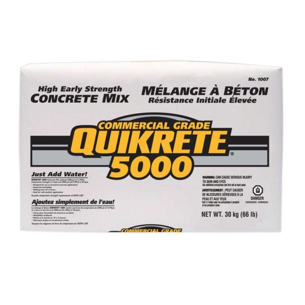 Quikrete 5000 Pro Finish High Strength