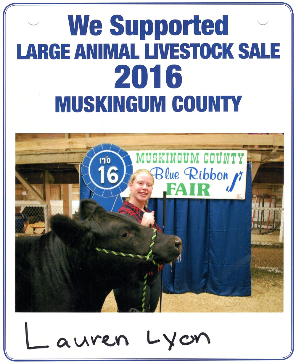 Zemba Bros Community Support Muskingum County Fair Live Stock Auction 4