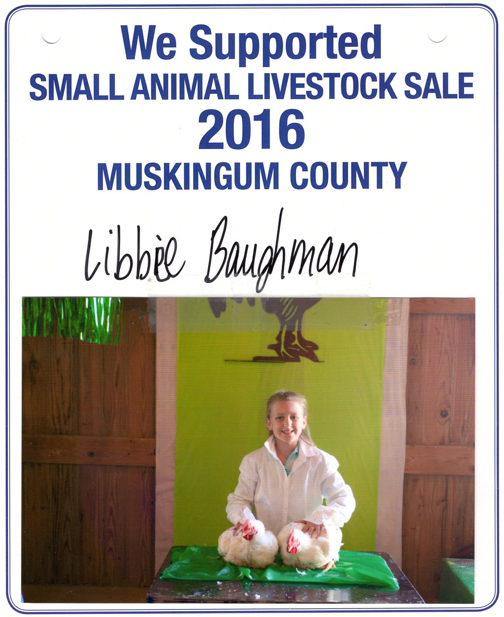 Zemba Bros Community Support Muskingum County Fair Live Stock Auction 8