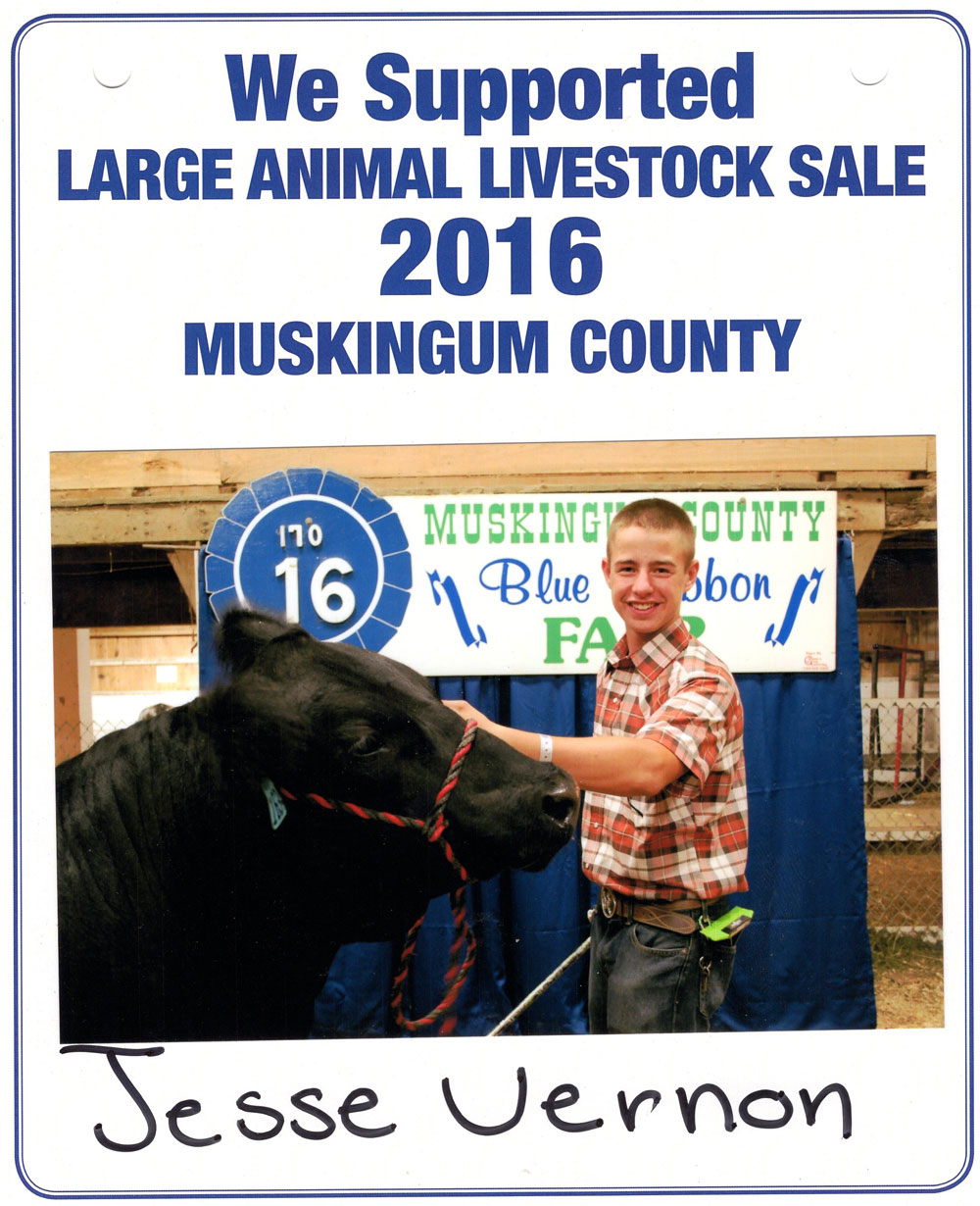 Zemba Bros Community Support Muskingum County Fair Live Stock Auction 9
