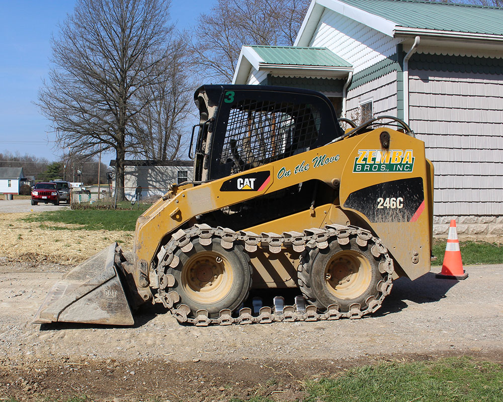 Zemba Bros Inc Caterpillar 246 Skid Steer