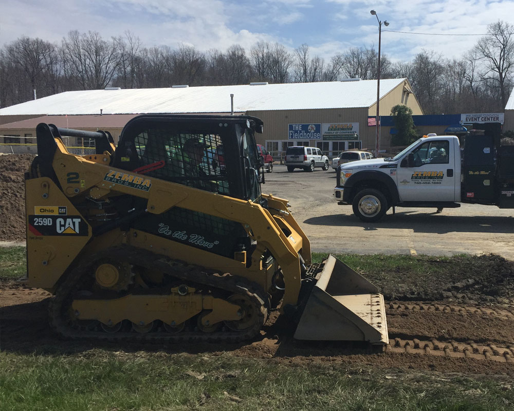 Zemba Bros Inc Caterpillar 259 Skid Steer