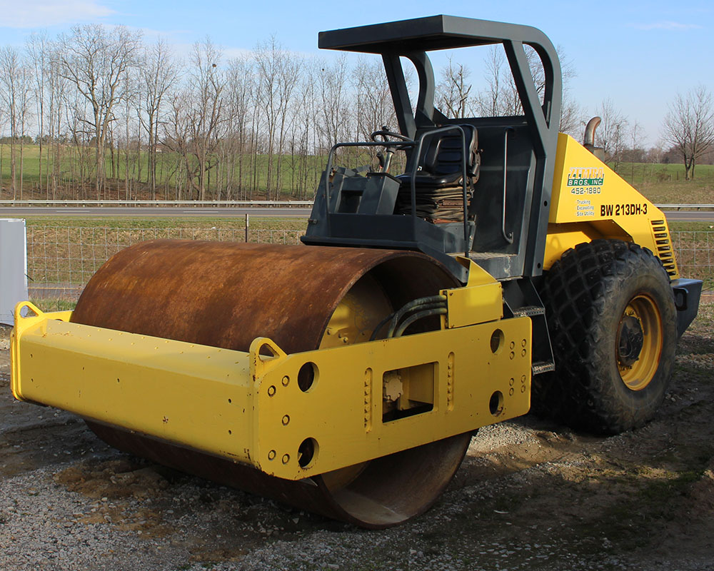 Zemba Bros Inc Compactor Bomag 84 smooth drum