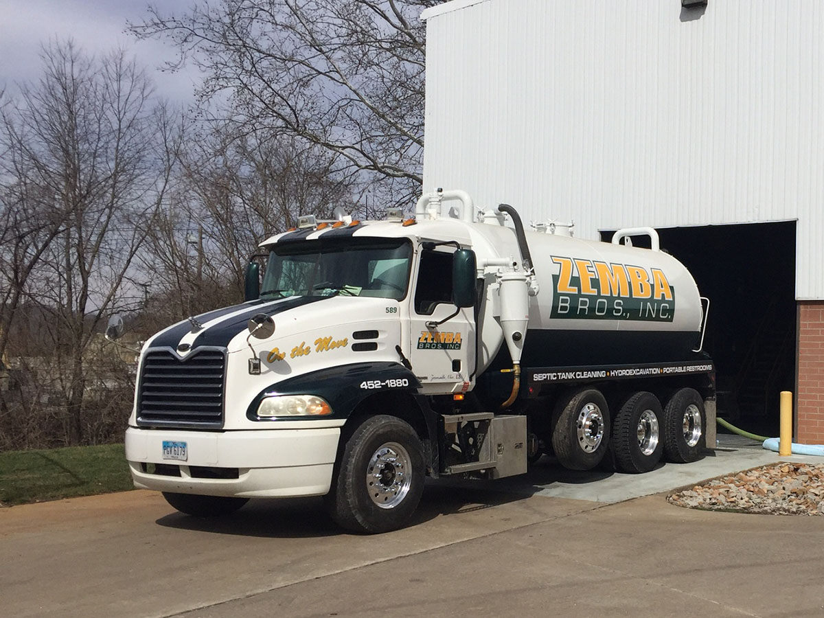 Zemba Bros Liquid Pumping Vacuum Trucks Water Hauling Semi 1