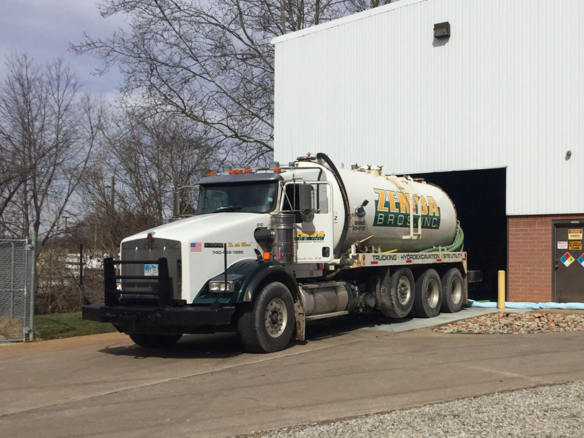 Zemba Bros Liquid Pumping Vacuum Trucks Water Hauling Semi 2
