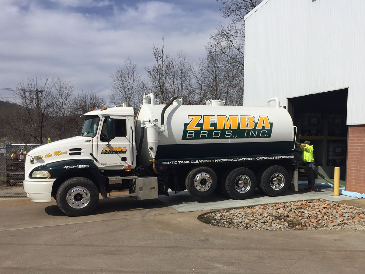 Zemba Bros Liquid Pumping Vacuum Trucks Water Hauling Semi 4