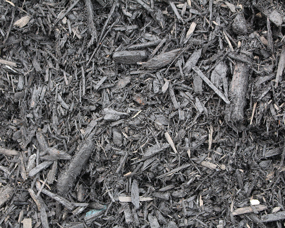 bulk black mulch